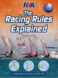 Könyvajánló: RYA Racing Rules Explained 2013-2016