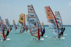 Közép-európai régiós szörfversenyt rendeztünk