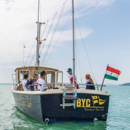 A Balatonfüredi Yacht Club versenyei